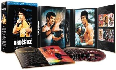 画像1: Coffret Bruce Lee ブルース・リーBlu-rayセット(フランス盤)