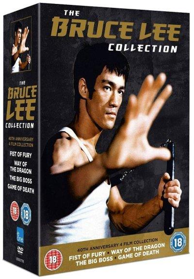 画像1: 40周年記念ブルース・リーコレクション DVD-BOX (イギリス盤)