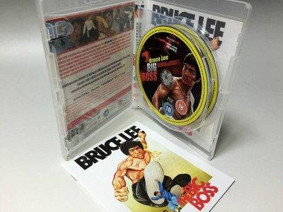 画像1: The Big Boss ドラゴン危機一発 ダブルフォーマット(イギリス盤Blu-ray&DVD)