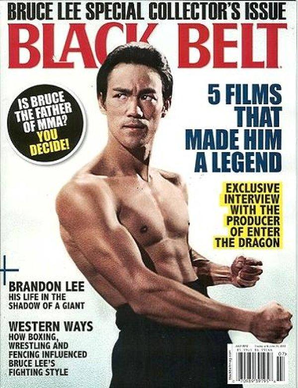 画像1: Black Belt ブラックベルト 2012年7月号 (アメリカ雑誌) (1)