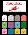 画像1: HAN'S ISLAND ワンポイントTシャツ (1)