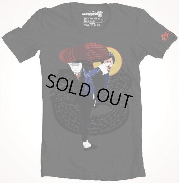 画像1: Bruce Lee SSUR Shirt ブルース・リーアート SSUR Tシャツ (アメリカ製Tシャツ) (1)
