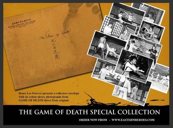画像1: ブルース・リー死亡遊戯コレクターズフォトセット (1)