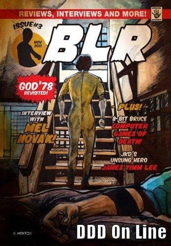 画像1: BLR Bruce Lee Review No.3 イギリス同人誌 (1)
