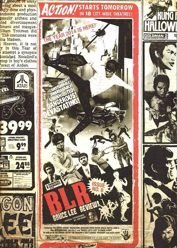 画像1: BLR ブルース・リーレビューNo.6(イギリス同人誌) (1)