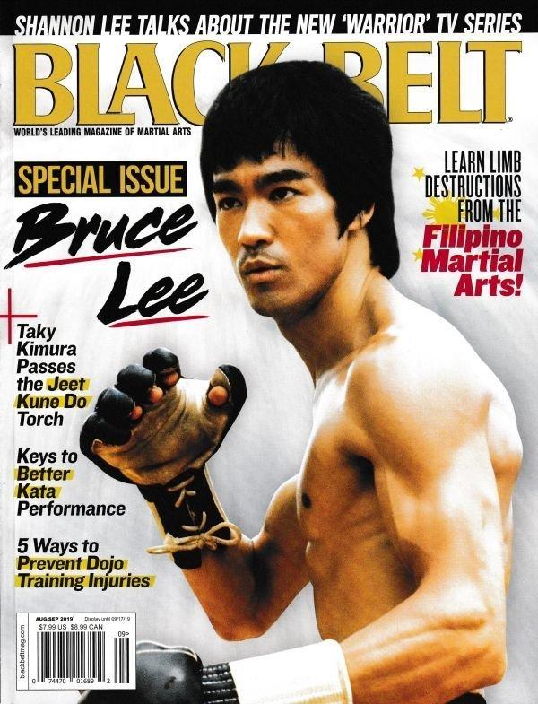 画像1: Black Belt ブラックベルト 2019年8月号 (アメリカ雑誌) (1)